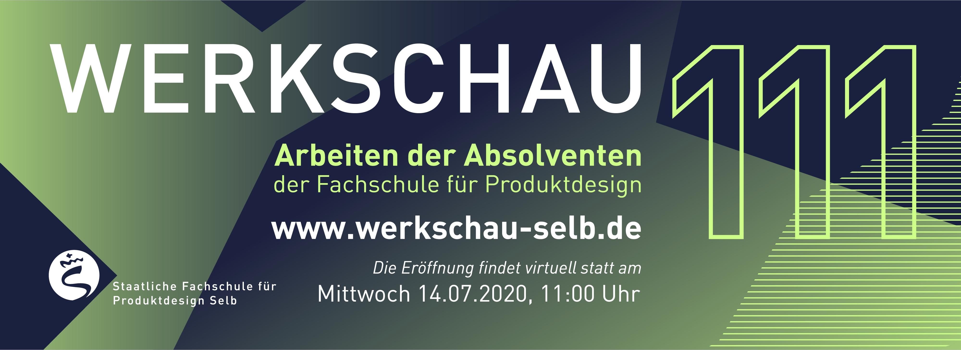 Werkschau 2020, 14.07.2020, 11.00 MESZ